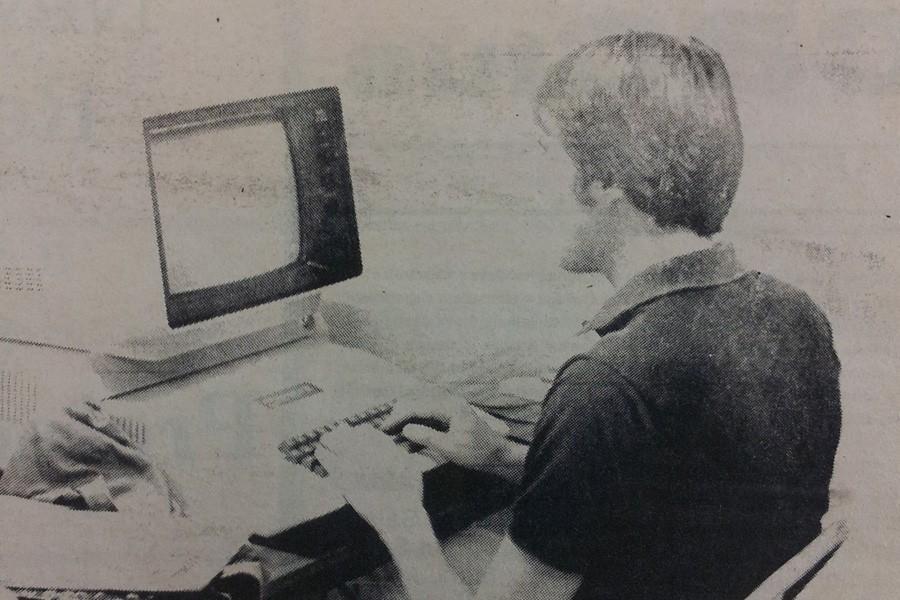 Joe+Pyritz+on+an+Apple+II%2C+1982