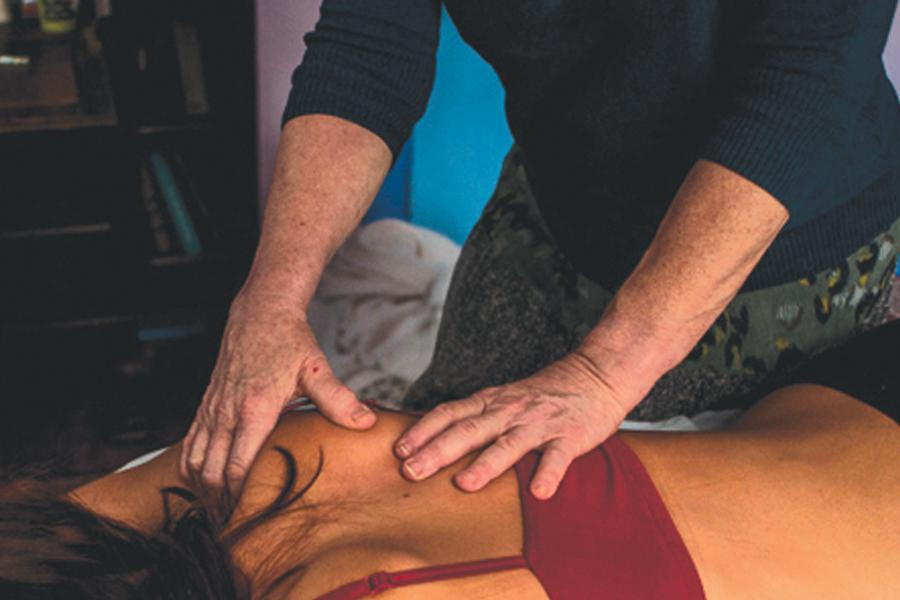 CAC Massage Therapy Student Offers Therapeutic Healing at Age 84