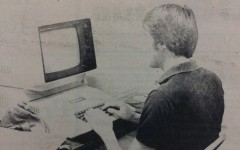 Joe Pyritz on an Apple II, 1982