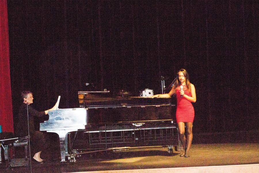 Marya Webster performing