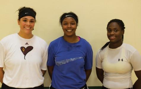 Left to Right: Cera Ledbetter, Keshara Scottbland, Brijanee Moore