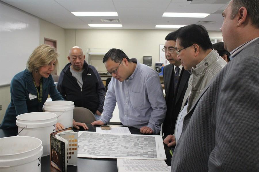 CAC Professor Helps Chinese Representatives