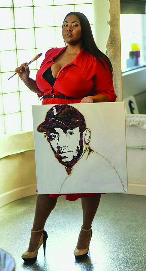 Artist Antionette Cauley's Mission to Bring Art to Inner-City Students