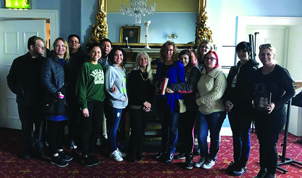 CAC Students and Faculty Travel to Ireland
