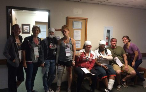 CAC Nursing Students Participate in Emergency Response Exercise