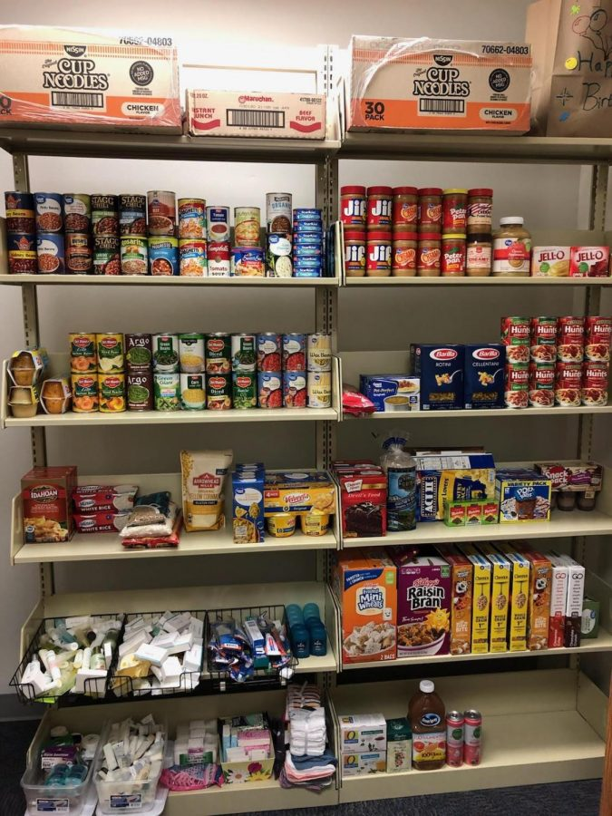 CAC Opens Food Pantries on All Campuses